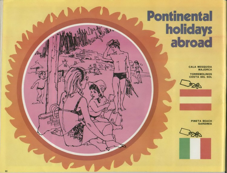 PONTINENTAL-HOLIDAYS