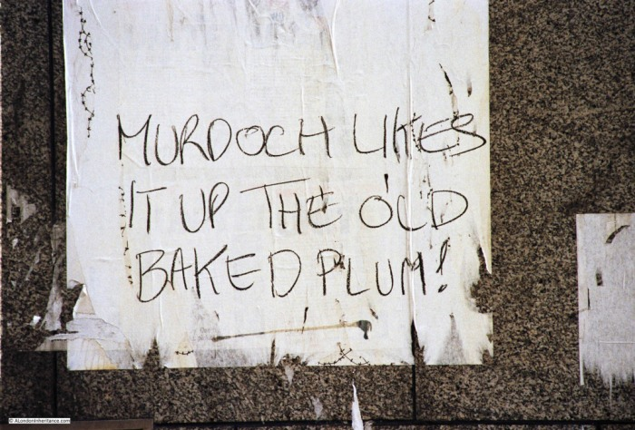 Murdoch likes it up the old Baked Plum